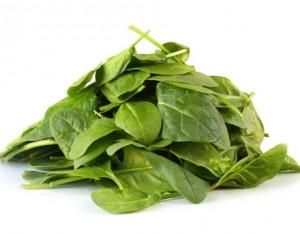 Σπανάκι - Συστατικά