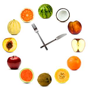 δίαιτα με το ρολόι