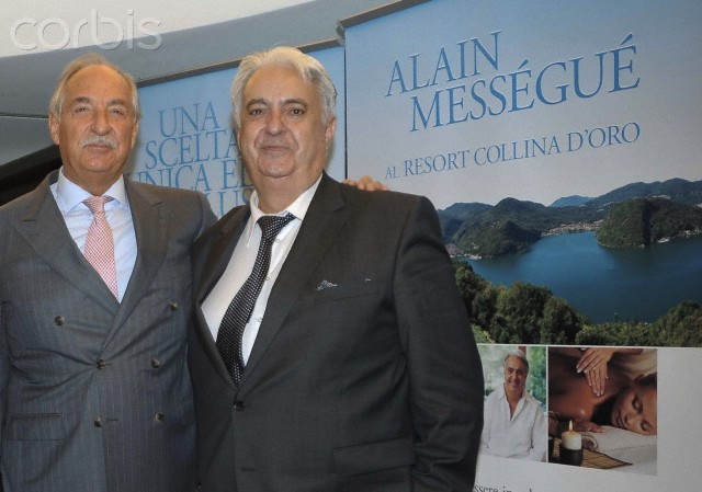 Alain Mességué and Silvio Tarchini have the nuovocentro Wellness Resort Golden Hill in Lugano Milan, Italy
